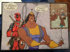If anyone with some sort of power is listening out there... Can we get a Deadpool x Kronk crossover series, please? Thanks.