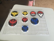 My first ever creations -- right on time for the launch of Pokemon Go!