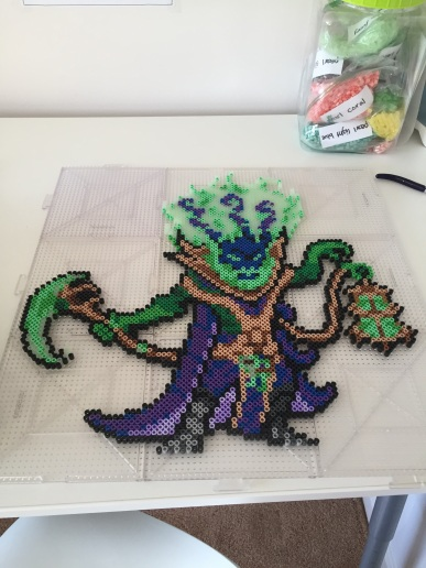 Thresh from League of Legends -- part one of a friend's anniversary present to his boyfriend :)