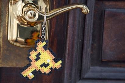 Zelda Boss Key Keychain